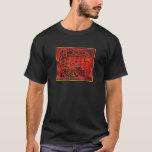 Kuna indischer LeguanMola T-Shirt