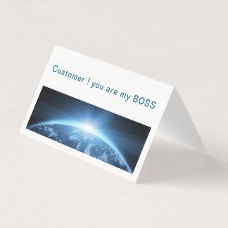 Kunde, Willkommen Visitenkarten