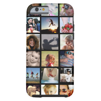Kunden-Foto-Collage iPhone 6 Fall (Case-Mate) Tough iPhone 6 Hülle