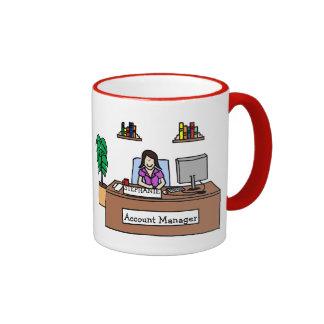 Kundenbetreuer - kundengerecht kaffee tasse
