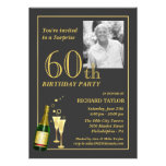 Kundengebundene 60. Geburtstags-Party Einladungen
