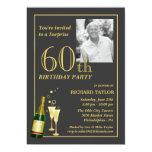 Kundengebundene 60. Geburtstags-Party Einladungen 12,7 X 17,8 Cm Einladungskarte