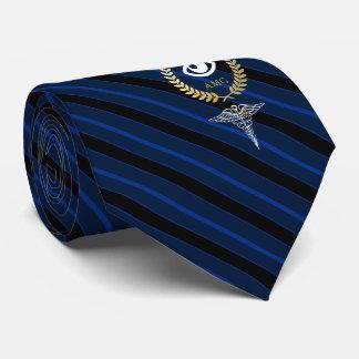 Kundengebundene Marine des Augenarzt-  Bedruckte Krawatten