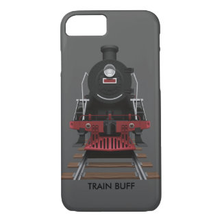 Kundengebundene Zug-Motor-Vintage Eisenbahn iPhone 8/7 Hülle