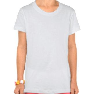 Kundengebundener großer Mädchen Bella Jersey T - Hemden