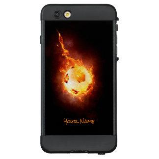 Kundengebundener heißer Fußball, Ball, Fußball LifeProof NÜÜD iPhone 6 Plus Hülle