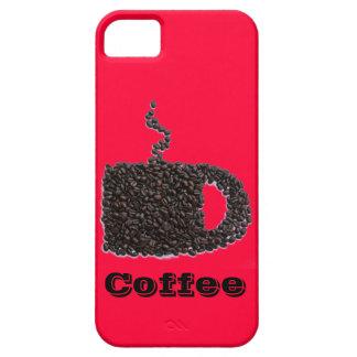 Kundengebundener Kaffeebohnen roter iPhone Kasten Hülle Fürs iPhone 5