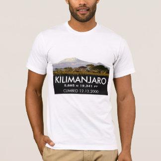 Kundengebundener Mount Kilimanjaro-Aufstieg Gedenk T-Shirt