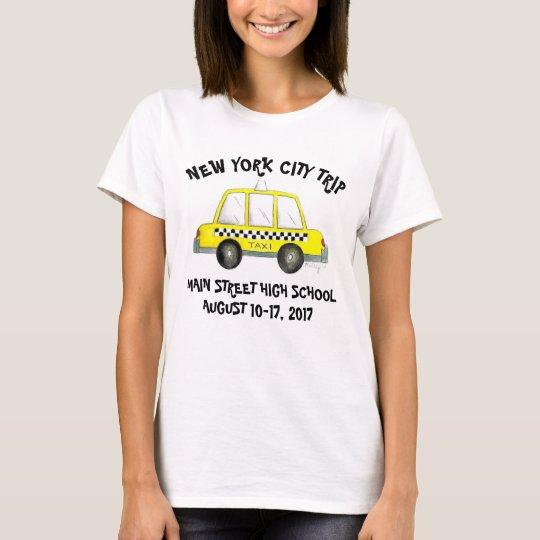 Kundengebundener NYC Taxi-New- T-Shirt