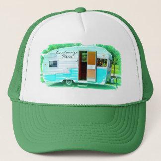 Kundengebundener Retro Vintager Camper Truckerkappe