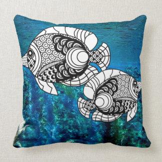 Kundengebundenes Angelfish-dekoratives Kissen