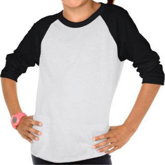 Kundengebundenes kleine Mädchen-amerikanisches T-Shirts