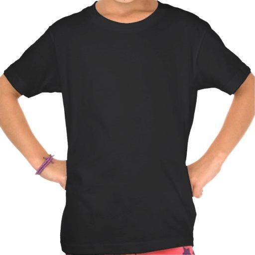 Kundengebundenes kleines Mädchen-amerikanisches Kl Shirt