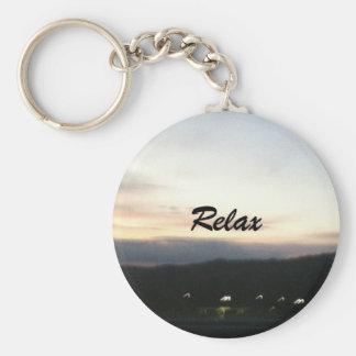 Kundengerecht entspannen Sie sich Keychain Schlüsselanhänger