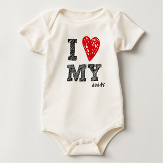 """Kundengerecht """"ich Liebe mein _"""" Baby-Shirt Baby Strampler"""