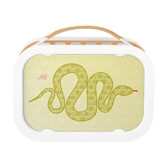 Kundengerecht: Schlange Brotdose