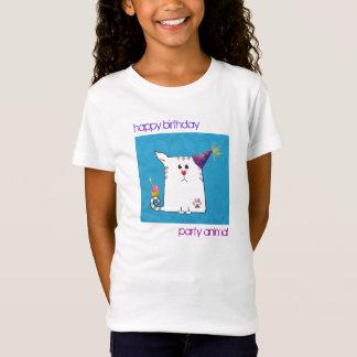 Kundengerecht: Wenig Alfie Blau T-Shirt