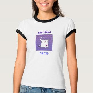 Kundengerecht: Wenig Alfie lila T-Shirt