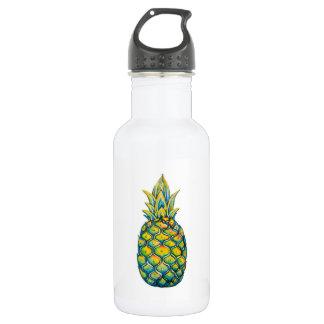 Kundengerechte Ananas-Druck-Wasser-Flasche Trinkflaschen
