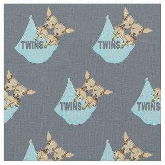 Kundengerechte Baby-Gewebe-Zwillings-Welpen-Jungen Stoff