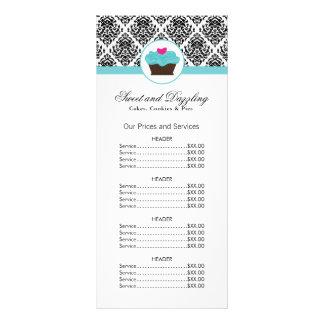 Kundengerechte Bäckerei-Preisliste-Gestell-Karte Werbekarte