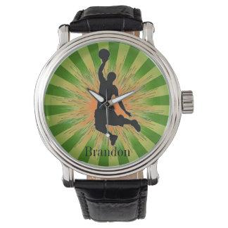 Kundengerechte Basketball-Entwurfs-Uhr Uhren