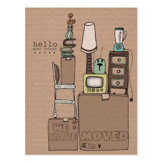 kundengerechte bewegliche Postkarte