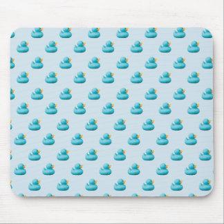Kundengerechte blaue Gummienten durch Lagerhalter Mousepad
