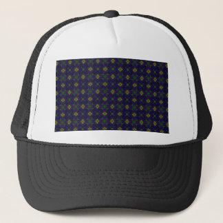 Kundengerechte elegante lila Maschen-Hüte Truckerkappe