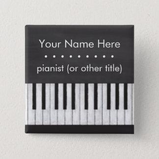 Kundengerechte, elegante, moderne Tafel-Tastatur Quadratischer Button 5,1 Cm