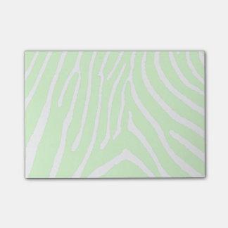 Kundengerechte Farbe/Weiß des Zebra Post-it Klebezettel