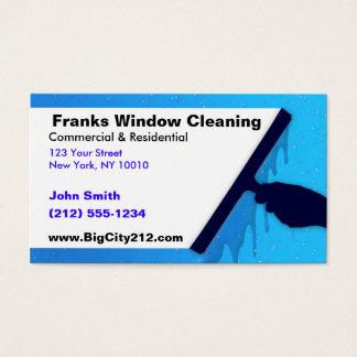 KUNDENGERECHTE Fenster-Reinigung BC Visitenkarte