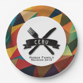 Kundengerechte Fiesta in Cebu Pappteller