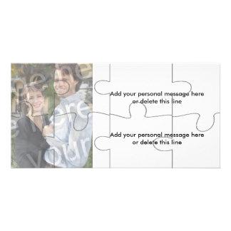"Kundengerechte Foto-""Spott-"" Puzzlespiel-Karte - 8 Individuelle Foto Karten"