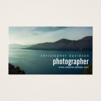 Kundengerechte Fotograf-Visitenkarte Visitenkarte