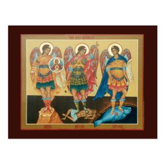Kundengerechte heilige Erzengel-Postkarte Postkarte