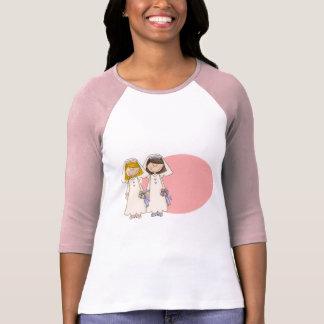 Kundengerechte homosexuelle weibliche T-Shirt