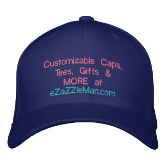 Kundengerechte Kappen, T-Shirts, Geschenke, mehr Bestickte Baseballkappe