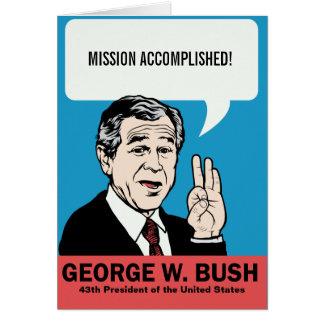 Kundengerechte Karte George W. Bush