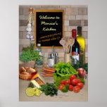Kundengerechte Küche Plakate