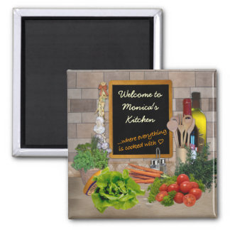 Kundengerechte Küche Quadratischer Magnet