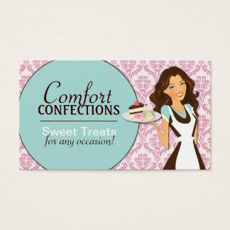 Kundengerechte Kuchen-Designer-Visitenkarten Visitenkarte