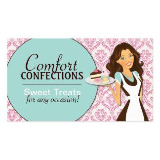 Kundengerechte Kuchen-Designer-Visitenkarten Visitenkarten