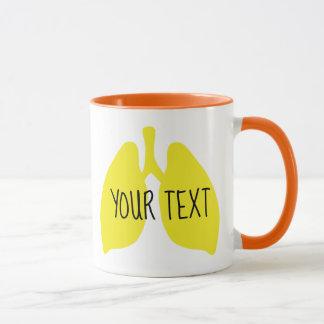 Kundengerechte Lunge-Tasse Tasse