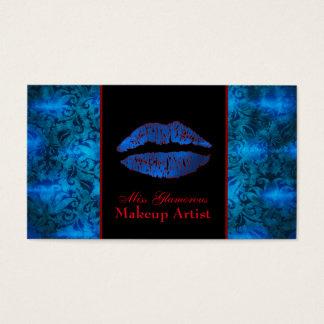 Kundengerechte Maskenbildner-Visitenkarte Visitenkarte
