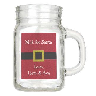 Kundengerechte Milch für Sankt Einmachglas