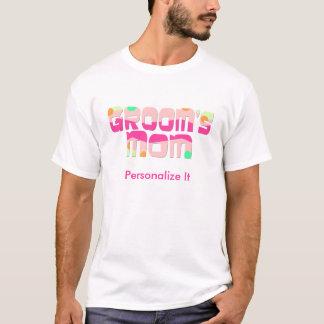 Kundengerechte Mutter des Bräutigam-Shirts T-Shirt
