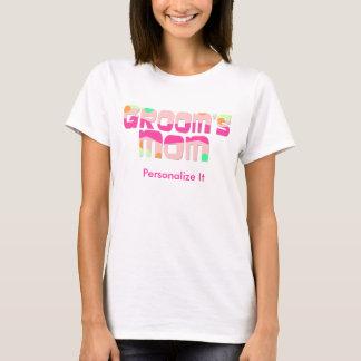 Kundengerechte Mutter des Bräutigams T-Shirt