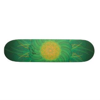 Kundengerechte Natur (psychedelischer Spirograph) 18,7 Cm Mini Skateboard Deck