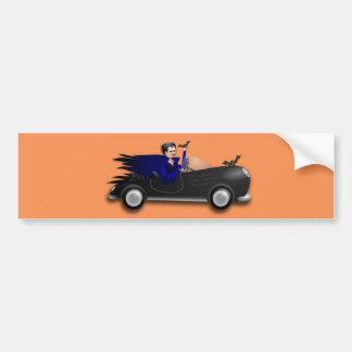 Kundengerechte niedliche Dracula-Entwürfe Autoaufkleber